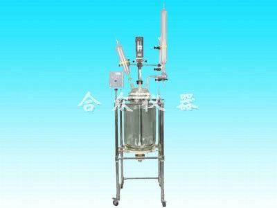 SF100L郑州双层玻璃反应釜价格SF100L